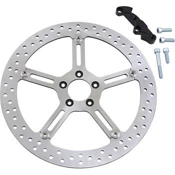 "Harley-Davidson Softail Big Brake Floating Rotor Complete Kit - 15"" Right"